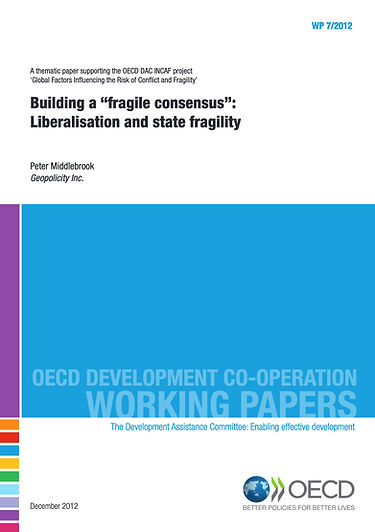 OECD Building a Fragile Consensus Peter
