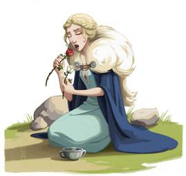 La reine et maman de Tignasse (personnage de conte nordique)