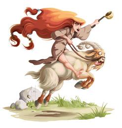 Tignasse (personnage de conte nordique)