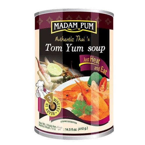 Готовый суп том ям