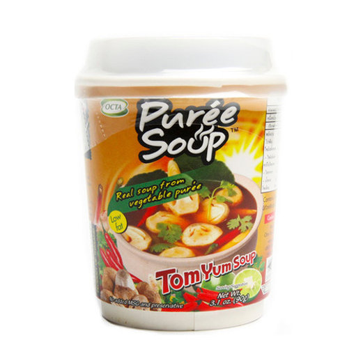 Тайский суп Том ям с грибами