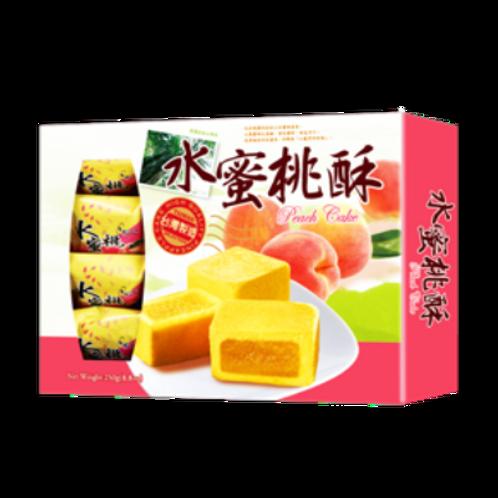 Японские пирожные с персиком