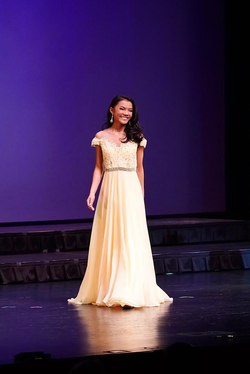 Evening gown/ Onstage Question