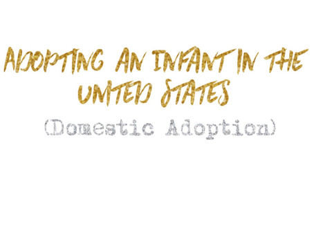 Adopting an Infant in the United States
