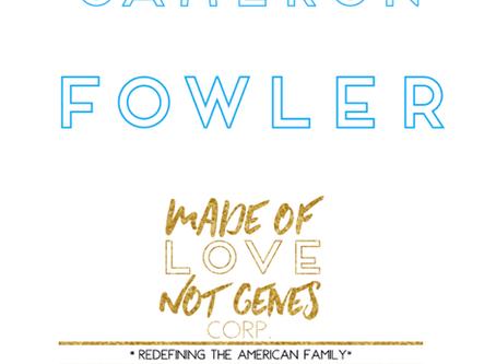 ADOPTION SPOTLIGHT - Cameron Fowler