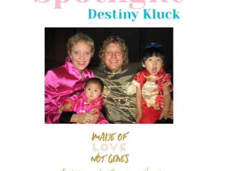 ADOPTION SPOTLIGHT- Destiny Kluck