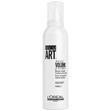 Мусс Tecni.Art Full Volume Extra для экстра-объёма и супер фиксации тонких волос
