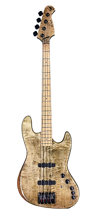 Jazz Bass 4 Aged Flamed Maple