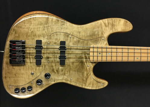 Circuito Jazz Bass : Jazz bass flame maple