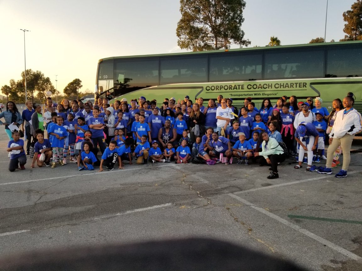 Field Trip to a Dodgers