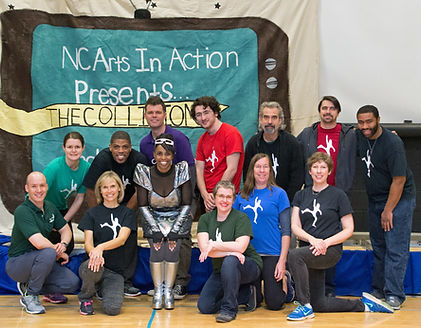 NC Aarts in Action Staff 2015 - 2016 Season