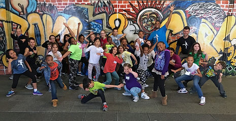 NC Arts In Action's LEAP Team 2015 - 2016