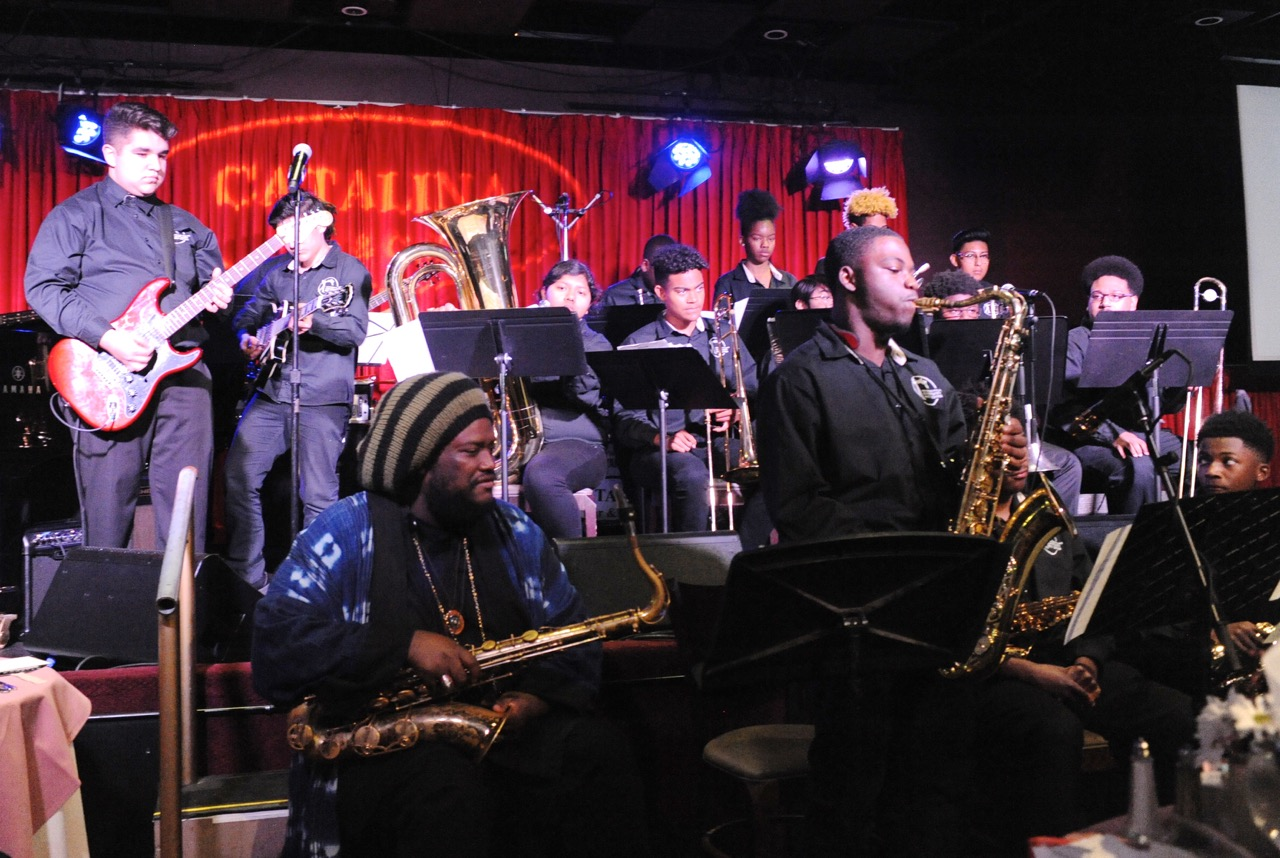 Saxophonist Kamasi Washington