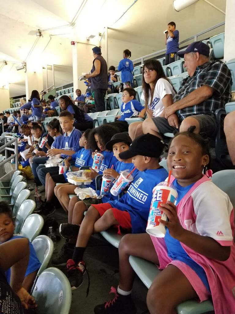 Field Trip to a Dodgers Game