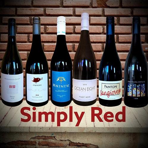 """Simply Red"" - Mornington Peninsula Mixed 6"