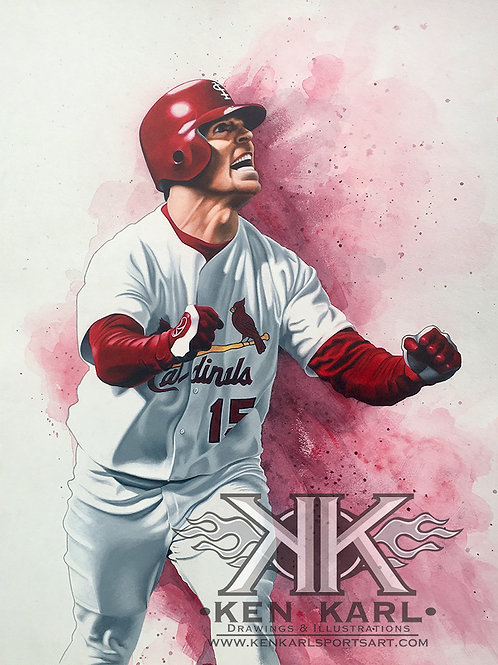 11x14 Limited Edition print of Jim Edmonds
