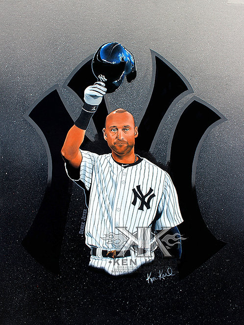 Derek Jeter Original Drawing