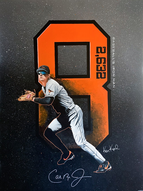 Cal Ripken Original Drawing