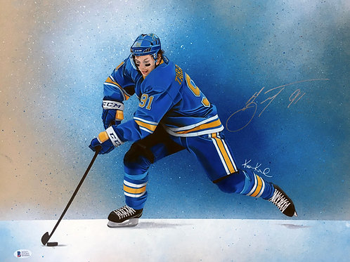 Vladimir Tarasenko St. Louis Blues Original Drawing With AUTOGRAPH