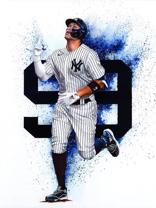 11x14 Limited Edition print of Aaron Judge