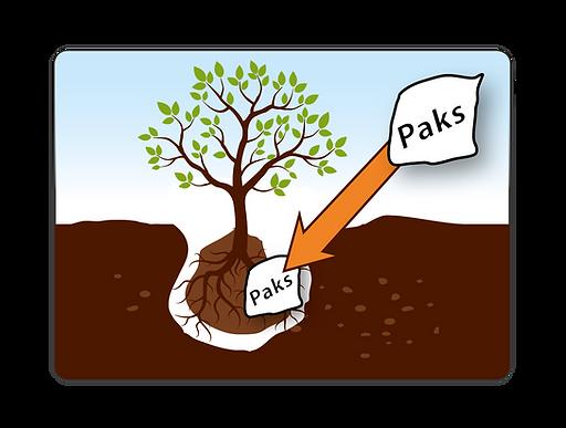 Easy to apply- Biodegradable Fertilizer Paks