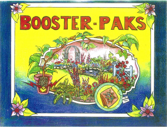 Original Booster Pak Label from 1993