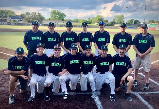 The 15U Rebels Baseball team placed 2nd in a 16U tournament