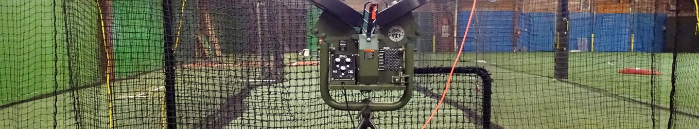 New Atec Pitching Machine.