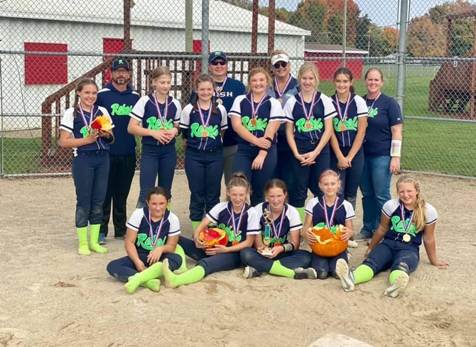 12U REBELS PUMPKIN SMASH CHAMPS