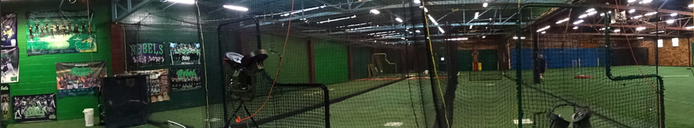Three Cages for Baseball and Softball