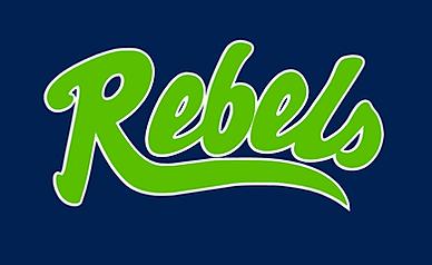 Rebels softball logo.png
