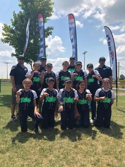12U USSSA State Champions 4