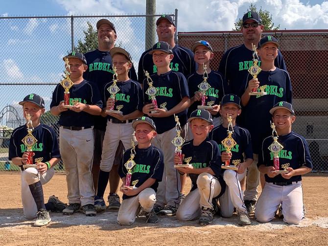 9U Baseball West Michigan Invitational Runner Ups