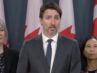 Trudeau Announced $1B+ COVID-19 Response Fund 暖心!特鲁多总理拨款10亿元防疫抗疫