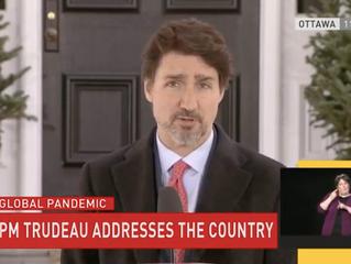 107 Billion COVID-19 Aid Package Passed加拿大国会通过1070亿援助法案;5 billion BC Action Plan卑诗省50亿应急计划