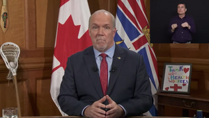 Premier Horgan was announcing the formal extension of the provincial state of emergency on March 31, 2020