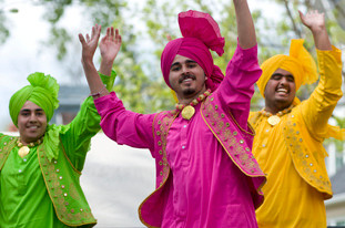 Richmond Vaisakhi - Organizers: WS Immigrant and Multicultural Services Society, Richmond Public Library