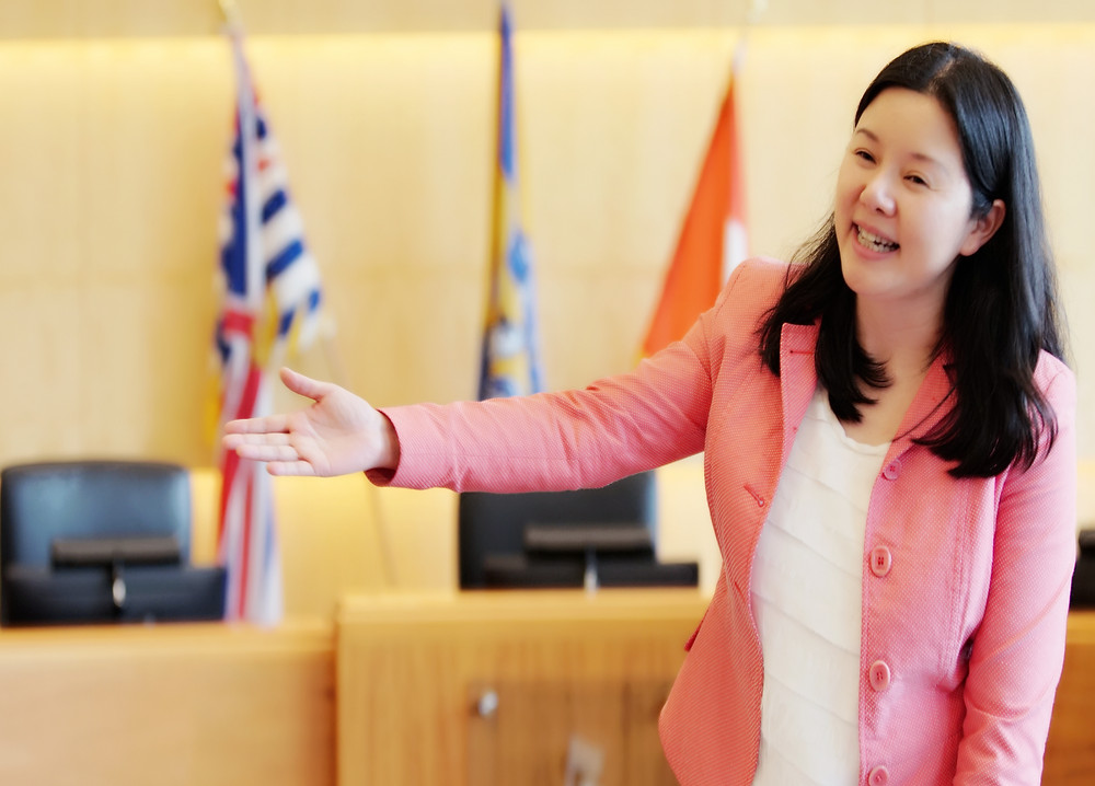 Sophia Zhang, Chair of WS Immigrant and Multicultural Services Society