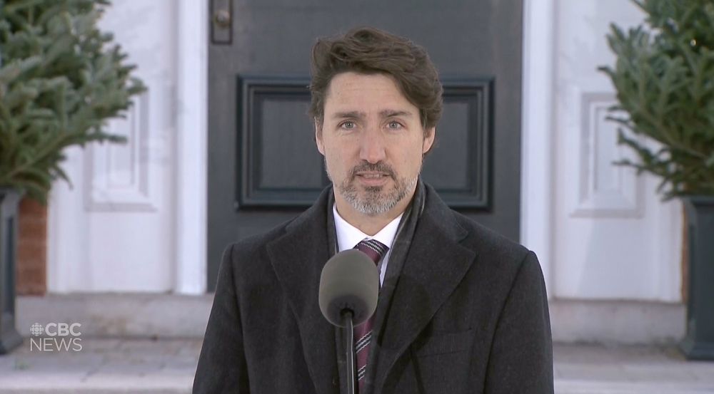 """We will do whatever we can to help you do your job and support you through this time"", said PM Trudeau on April 15, 2020."