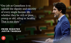 PM Trudeau on expanded CERB eligibility on April 15, 2019