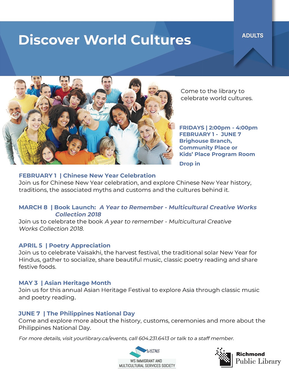 Discover World Culture Series -- Filipino Heritage Month Celebration