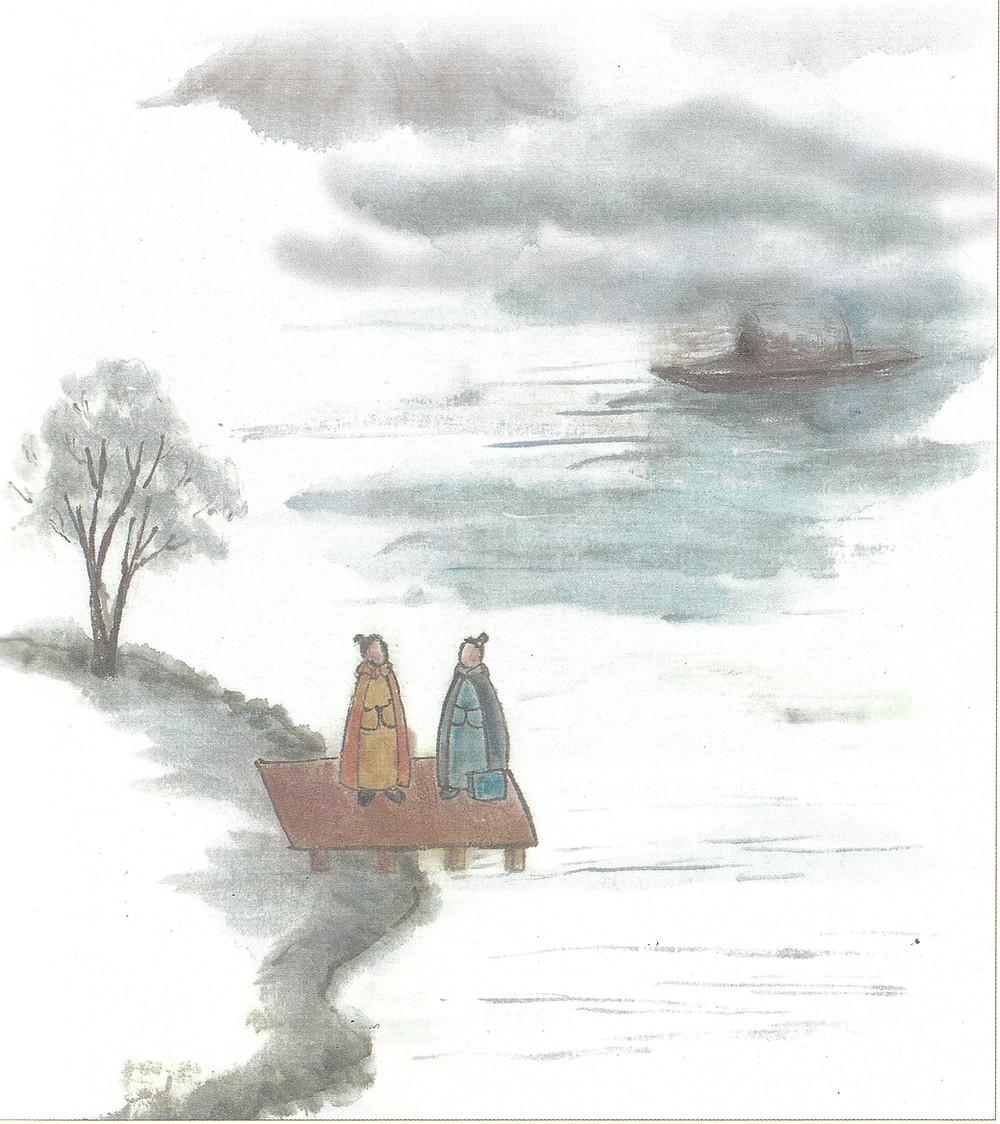 A Conversation with Geng Tianzhi(Painting Credit: Lingling Liu)