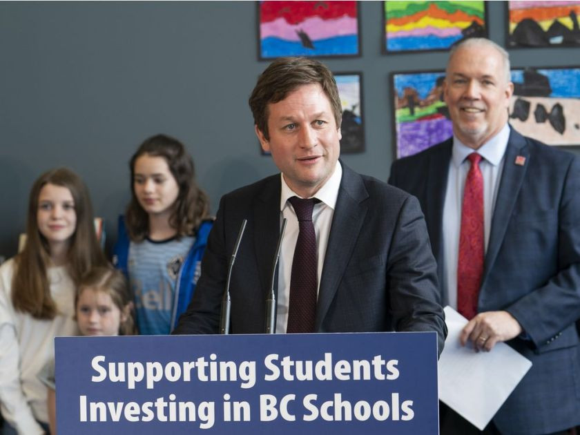 Rob Fleming, Minister of Education