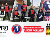 DORKING WANDERERS FC LADIES AND iPRO HYDRATE ANNOUNCE NEW PARTNERSHIP