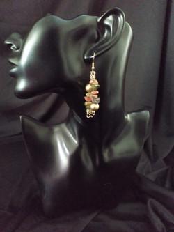 Unikate Crystal Twin Earrings