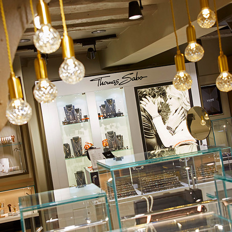 Luxe by Hugh Rice Jewellers shortlisted for Best Store Environment by 2017 UK Jewellery Awards