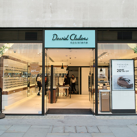 David Clulow opticians opens new concept store in London's financial district