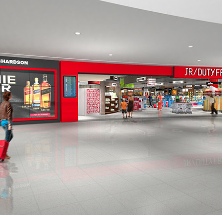 Flying high – JR/Duty Free celebrates some milestone airport retail developments with Innovare Desig