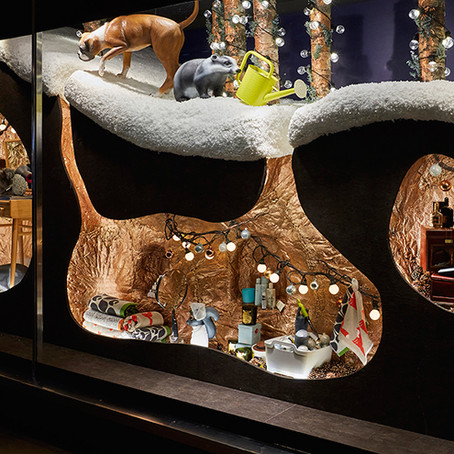 6 of our favourite Christmas window displays