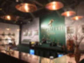 Sipsmith London distillery brand display